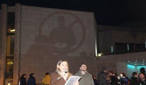 FOTO: Obeleženo godinu dana protesta protiv režima