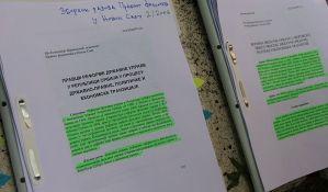 Mesecima nema odluke o spornim radovima Martinovića na Pravnom fakultetu u Novom Sadu