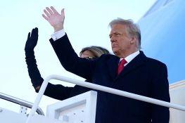 FOTO Tramp napustio Belu kuću: Vratićemo se u nekoj formi