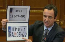 Evo koje tablice ne mogu na sever Kosova