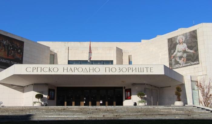 Čistiće se kamena fasada zgrade Srpskog narodnog pozorišta