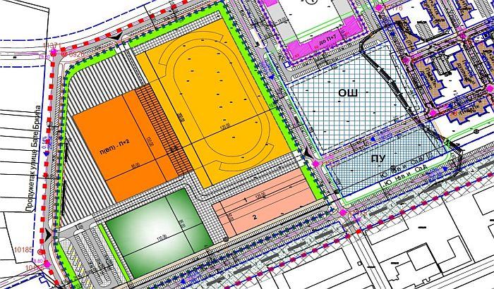 Nova šansa za projektovanje sportskog centra na Novom naselju
