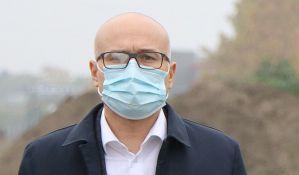 Vučević: Još nema zahteva za privremenu kovid bolnicu na Novosadskom sajmu, u Gerontološkom zaraženi zaposleni
