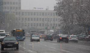 FOTO: Pada sneg u Novom Sadu, putevi prohodni