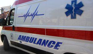 Žena povređena u sudaru u Veterniku