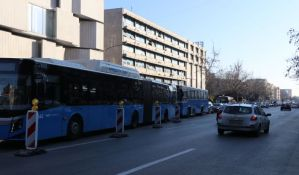 FOTO, VIDEO: Gužve u saobraćaju u centru Novog Sada zbog radova koji će trajati dve nedelje