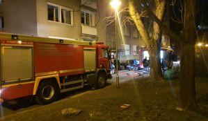 VIDEO: Požar na Grbavici, deca se igrala upaljačem pa zapalila krevet