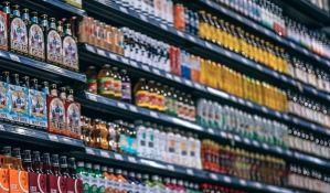 Prodaja alkohola u Rusiji skoro prepolovljena