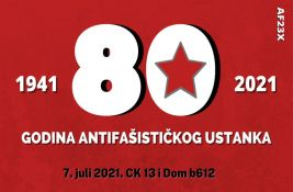 Obeležavanje 80 godina antifašističkog ustanka u Srbiji u Crnoj kući i Domu b-612