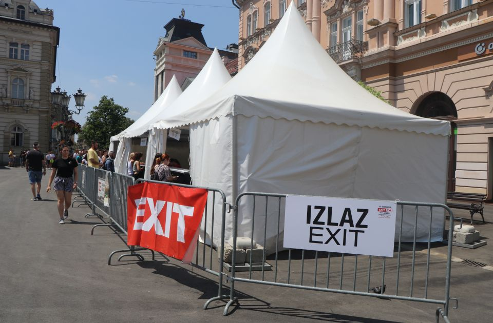 FOTO, VIDEO: Stiže Exit - Novi Sad u završnim pripremama za festival