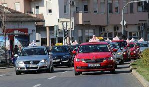 Taksistima subvencije za nova kola ako su legalni i nemaju dugovanja prema državi
