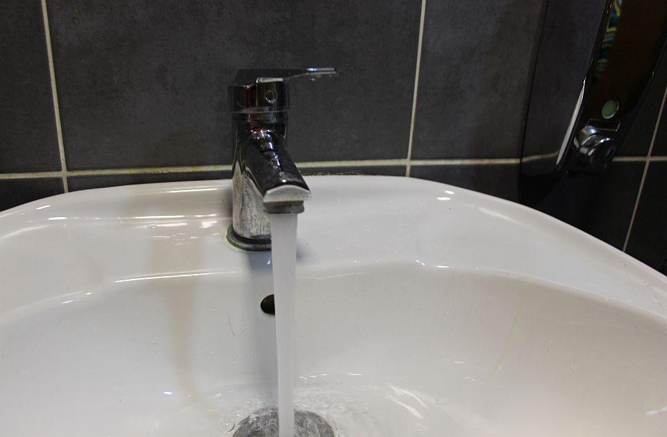 Deo Bulevara cara Lazara bez vode zbog havarije