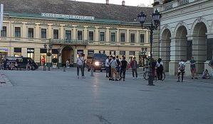 Novi Sad: Protesta nema, u centru mala grupa mladih, policija otišla