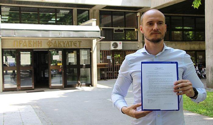 Balša Božović: Potvrđeno da je Martinović plagirao radove na Pravnom fakultetu u Novom Sadu