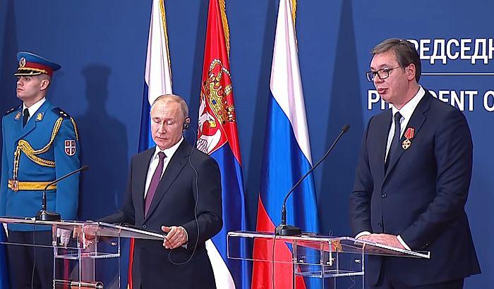 Koji su ekonomski dometi Putinove posete?