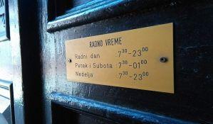 Radno vreme kafića u zatvorenom produženo do 23 časa, manifestacije i dalje zabranjene