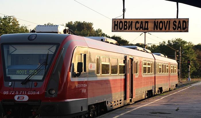 Vozna linija između Novog Sada i Zrenjanina ukinuta tri meseca posle pokretanja