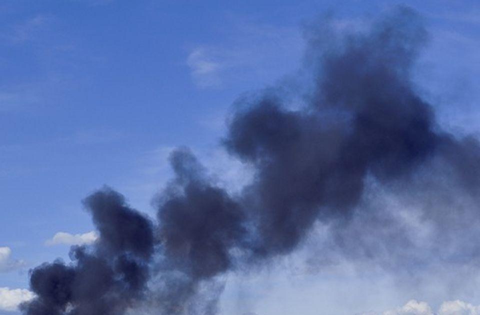 Građani u Surdulici protestovali zbog crnog dima iz Knaufovog postrojenja