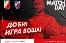 Voša dočekuje Jagodinu u šesnaestini finala Kupa Srbije