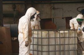 FOTO: Počelo uklanjanje opasnog otpada iz bivšeg HINS-a u Novom Sadu