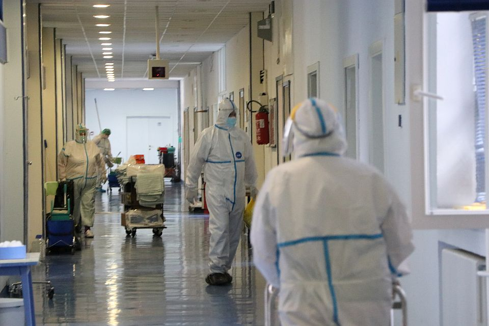 I dalje više od 500 kovid pacijenata na bolničkom lečenju u Novom Sadu