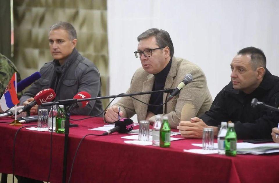 Vučić na sastanku sa Srbima sa KiM: Šta god da se desi, Srbija i Beograd biće uz vas