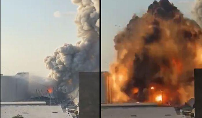 VIDEO: Snažna eksplozija u Bejrutu, najmanje 78 poginulih