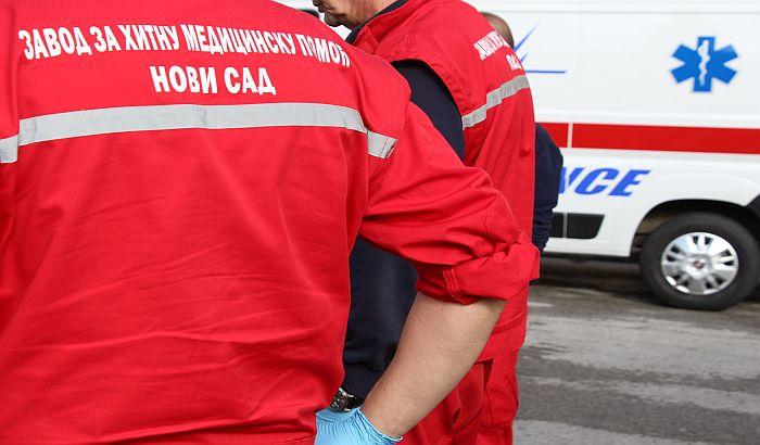 Pešak teško povređen na putu Rumenka-Bački Petrovac