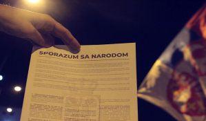 FOTO: Završen šesti protest