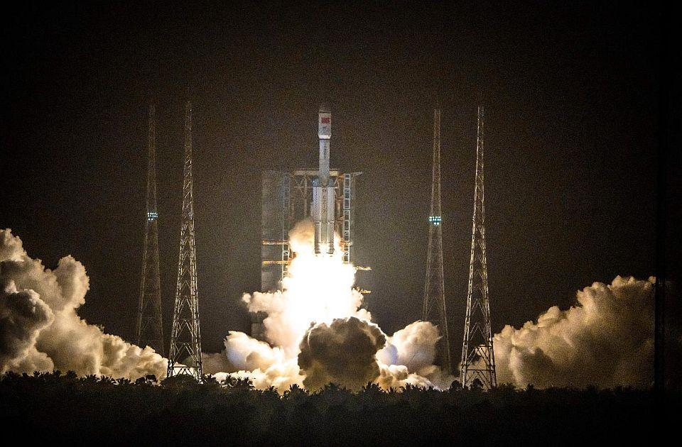 Raketa Dugi marš spojila se sa modulom buduće svemirske stanice