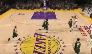 NBA igrači na virtuelnom terenu