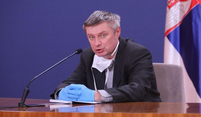 Stevanović: Za sada mali broj izlečenih jer smo u ranoj fazi, novo žarište u Novom Pazaru