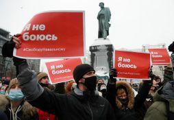 Policija u Beogradu zabranila skup podrške Navaljnom