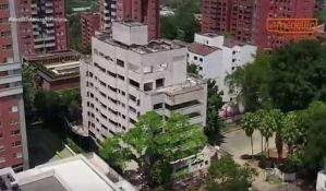 VIDEO: Uništena zgrada u kojoj je živeo Pablo Eskobar