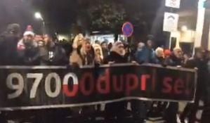 Protesti protiv vlasti i u Podgorici