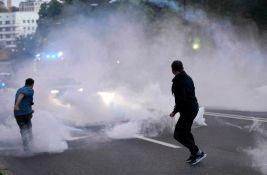 FOTO: Sukob slovenačke policije i demonstranata u Ljubljani, pokušali da uđu u redakciju N1
