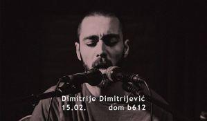 Dimitrije Dimitrijević i Sara Renar u Domu b612 15. februara