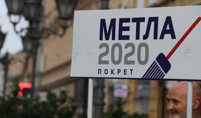 Pokret Metla 2020 prikuplja potpise protiv javnih izvršitelja