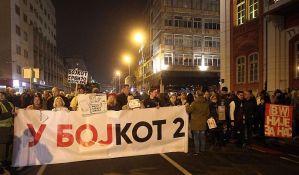 FOTO: Građanski protest i šetnja u Beogradu za bojkot izbora