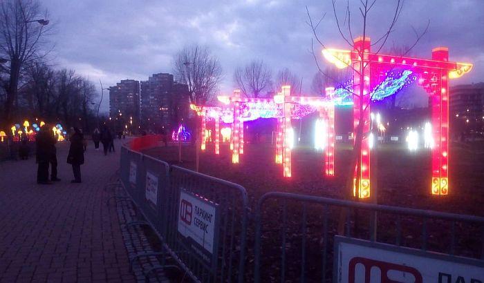 Produžen Kineski festival svetla u Limanskom parku