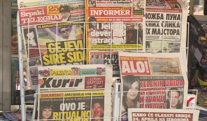 Raskrikavanje: Više od pola miliona evra za tabloide