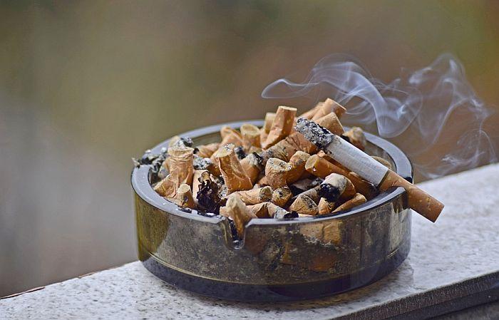 Neispražnjena pepeljara opasna po zdravlje