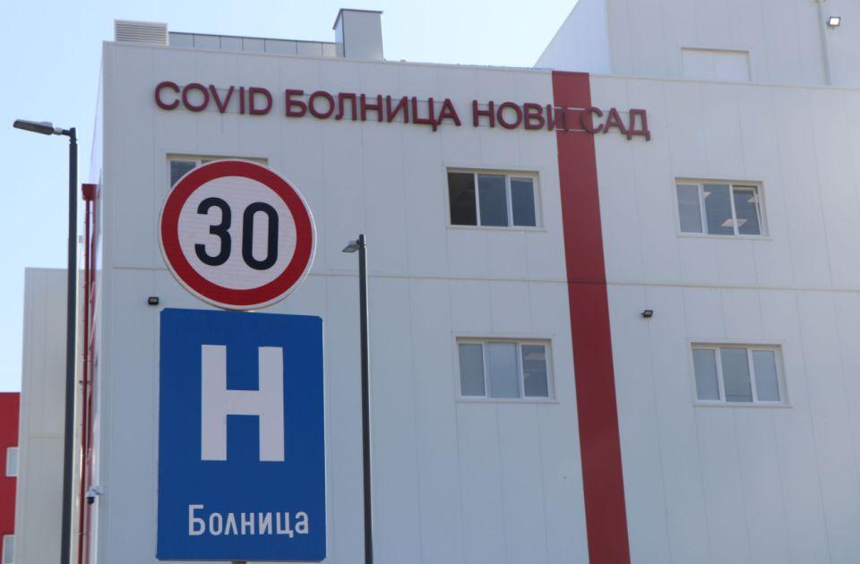 Velik skok broja kovid pacijenata u Novom Sadu, popunjeno dve trećine kovid bolnice na Mišeluku