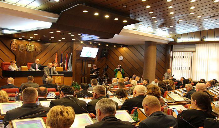 Skupština o urbanističkim planovima bez prisustva dela opozicije