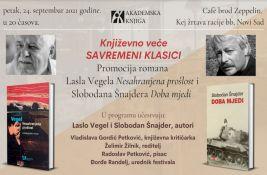 Promocija romana Lasla Vegela i Slobodana Šnajdera u petak na Cepelinu