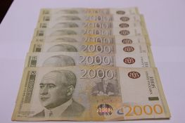Evro sutra 117, 57 dinara