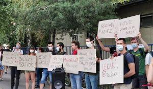 VIDEO Protest protiv policijske represije, blokiran deo Rumenačke