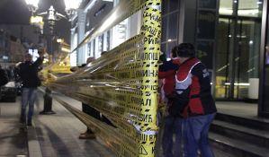 FOTO: Održan protest Saveza za Srbiju, oblepljena Galensova zgrada