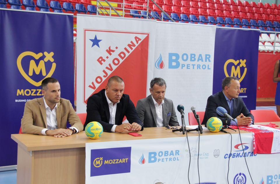 FOTO: RK Vojvodina sa novim sponzorima napada Evropu i 10. titulu prvaka