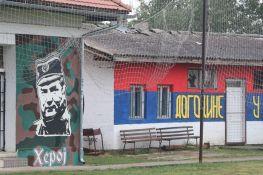 Sve više grafita posvećenih Ratku Mladiću širom Novog Sada